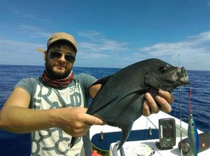 Black Trevally — Guillaume Borie