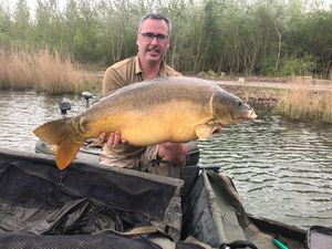 Mirror Carp — Stephane Colinmaire