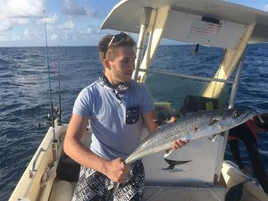 King Mackerel — Anthony guide pêche Guadeloupe